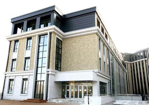 Một toà học xá tại Busan University of Foreign Studies