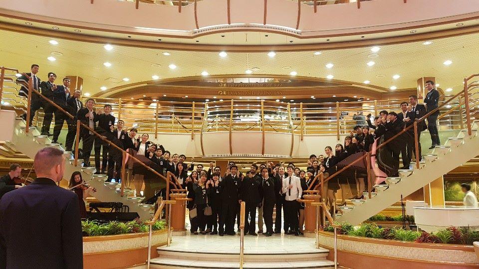 Sol International School: Sinh viên ngành Du lịch - Khách sạn đi thực tập
