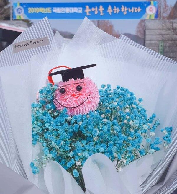 Một bó hoa ngộ nghĩnh trong lễ hội tại ANU