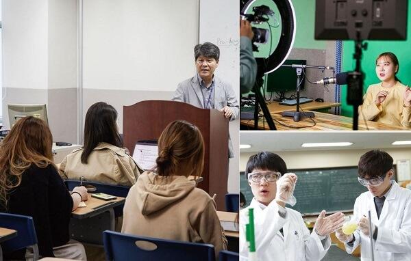 Các lớp học tại Đại học Catholic Hàn Quốc