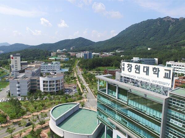 Toàn cảnh trường ĐH Quốc gia Changwon