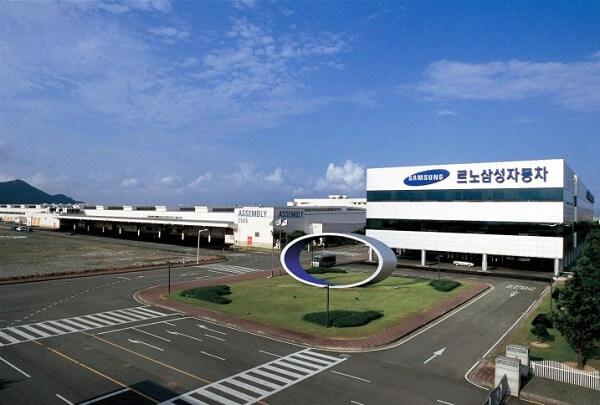 Công ty Xe hơi Renaults Samsung tại thành phố Busan