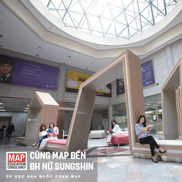 Cùng MAP đi du học Đại học Nữ Sungshin