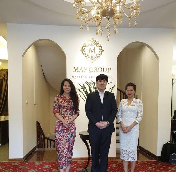 Đại diện Kookmin University tới thăm và làm việc tại MAP