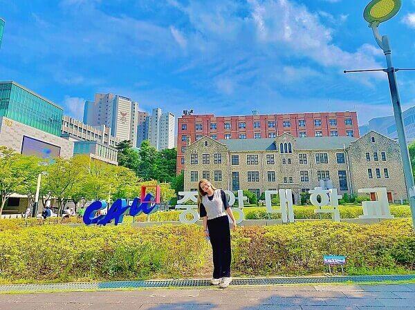 Đặng Nguyễn Hoài Thương - sinh viên năm 2 của MAP tại ĐH ChungAng