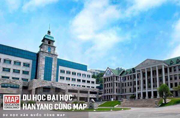Đi du học Hanyang hệ tiếng Hàn cùng MAP
