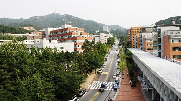ĐHQG Seoul - Học xá Gwanak