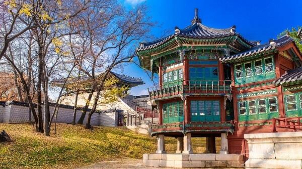 Kiến trúc cổ đại của cung điện Gyeongbokgung được lưu giữ tại Hàn Quốc