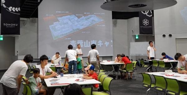 Hoạt động tư vấn về các ngành đào tạo tại đại học Tohoku luôn được tổ chức hàng năm