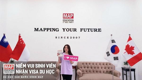 Học viên xinh xắn của MAP học tại Đại học Kwangwoon