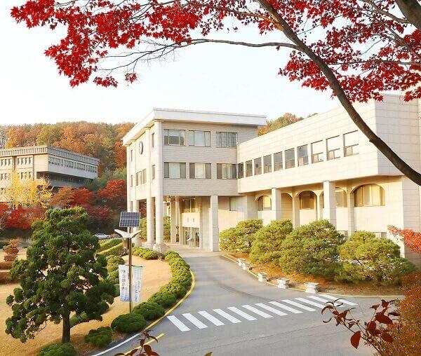 Học xá trường Kangnam đẹp nên thơ vào mùa thu