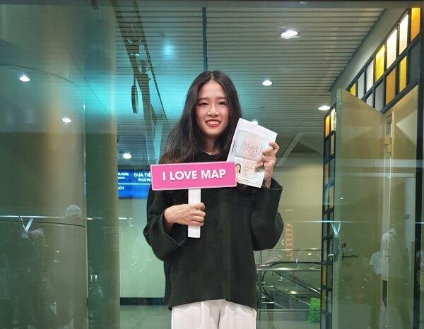 Hồng Thắm - Cô nữ sinh MAP xinh đẹp tại Yeungnam University College