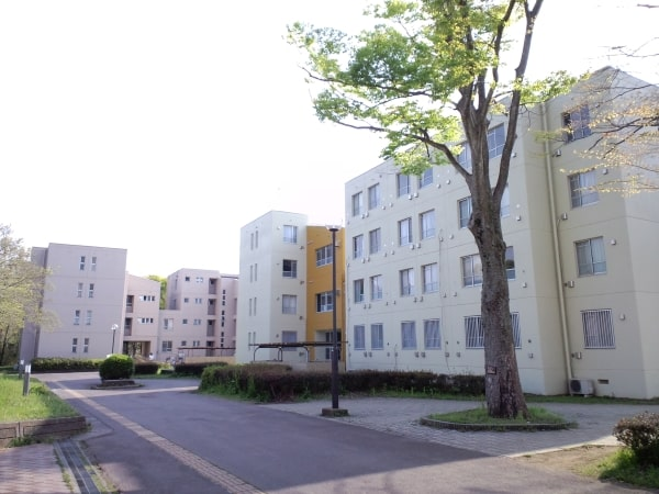 Ichinoya - Một trong các khu ký túc xá trường đại học Tsukuba Nhật Bản