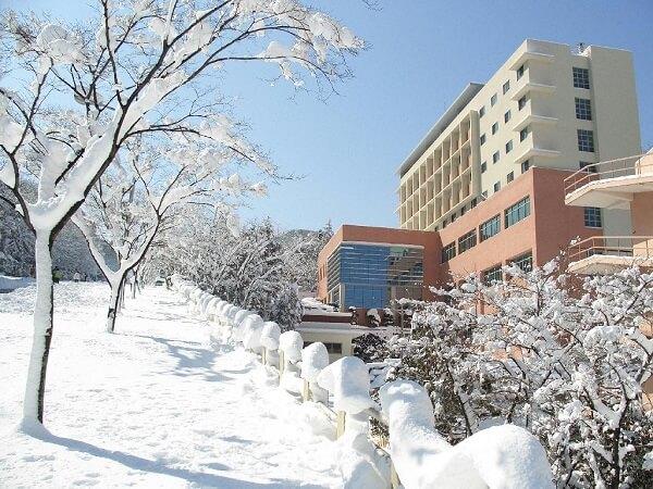 Khung cảnh mùa đông tuyết phủ