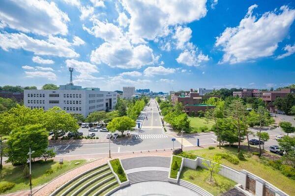Khuôn viên Chungbuk National University