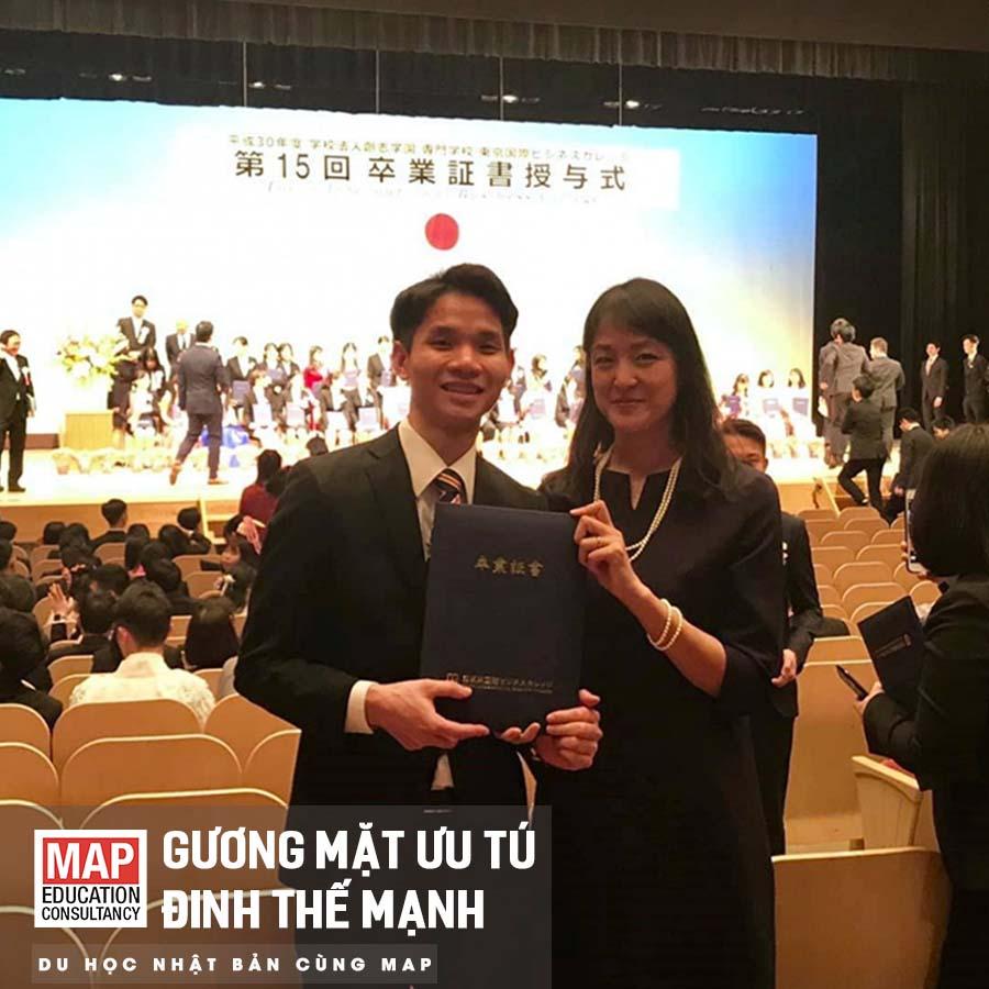 Chúc Đinh Thế Mạnh – chàng trai Hà nội với nụ cười hiền khô của MAP thật nhiều thành công ở phía trước nhé