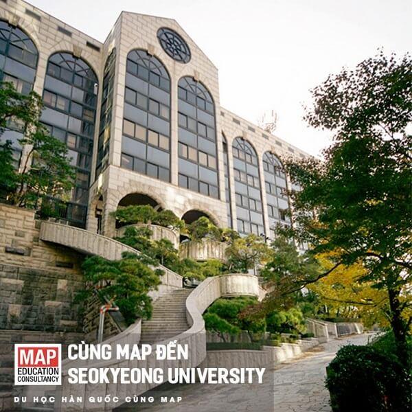 Một góc khuôn viên Đại học Seokyeong