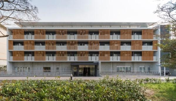 Một khu ký túc xá đại học Kyoto