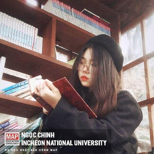 Sinh viên MAP học chuyên ngành tại Incheon National University