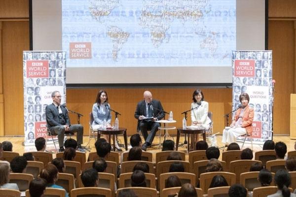 Những buổi hội thảo quy tụ các chính khách trên thế giới luôn được tổ chức tại trường đại học Keio Nhật Bản