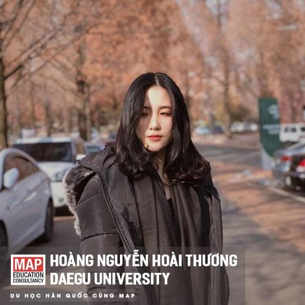 Nữ sinh xinh xắn của MAP học chuyên ngành tại trường
