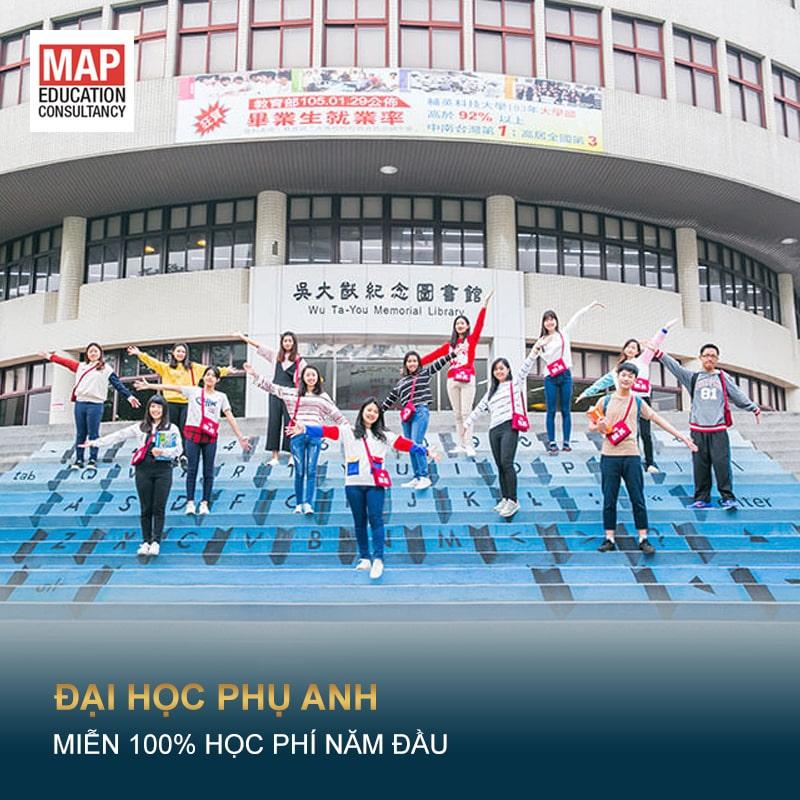 Học Bổng Toàn Phần Từ Đại Học Kỹ Thuật Phụ Anh