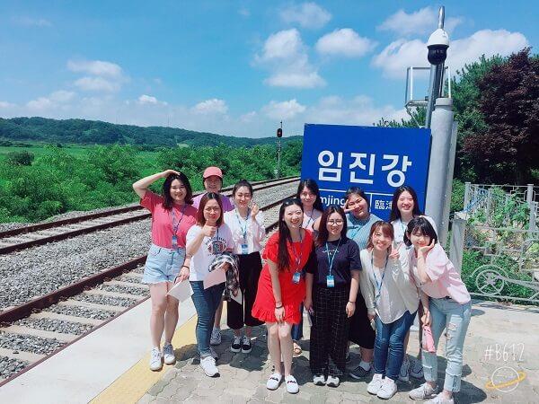 Sinh viên MAP học hệ tiếng Hàn và tham gia buổi học ngoại khóa