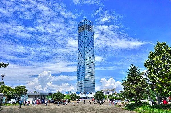 Sinh viên sẽ có dịp ghé thăm tháp cảng này khi du học ở Chiba