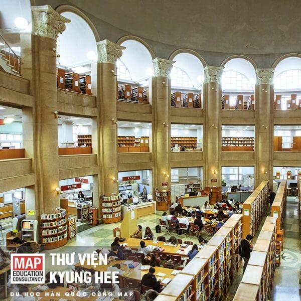 Thư viện trường Đại học Kyung Hee Hàn Quốc