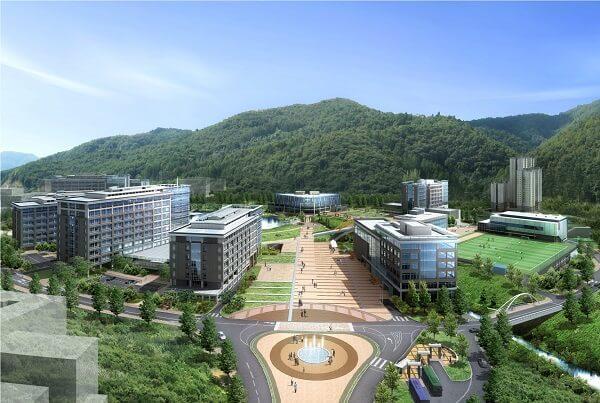 Toàn cảnh Viện khoa học và công nghệ Quốc gia Ulsan