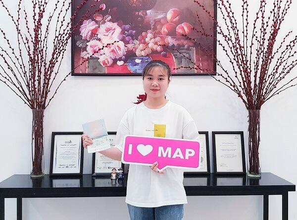 Vũ Thị Huệ - Sinh viên MAP xuất sắc tại CĐ Yeungnam