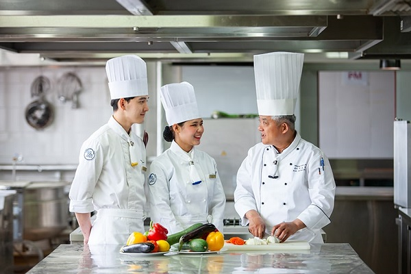 Một lớp học Ẩm thực – Nấu ăn tại Đại học Woosong