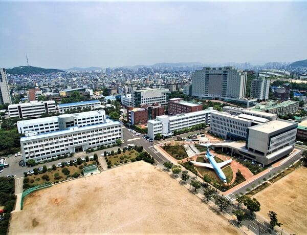 Toàn cảnh trường Kỹ thuật Inha Hàn Quốc