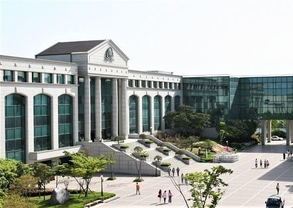 Học xá chính tại trường Cao đẳng Ulsan Hàn Quốc
