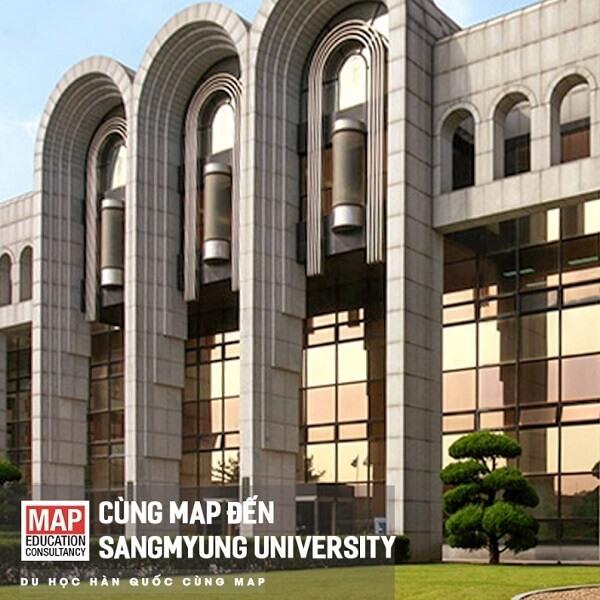 Thiết kế học xá ấn tượng của ĐH Sangmyung – Cơ sở Cheonan