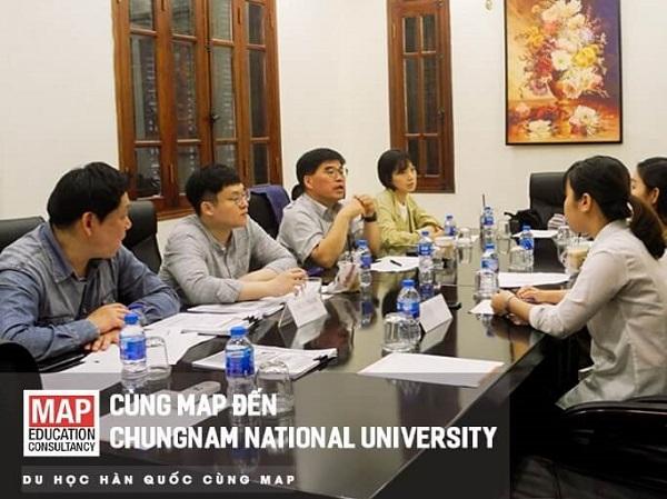 Đại học Quốc gia Chungnam tổ chức các buổi gặp gỡ thường niên tư vấn cho sinh viên tại MAP