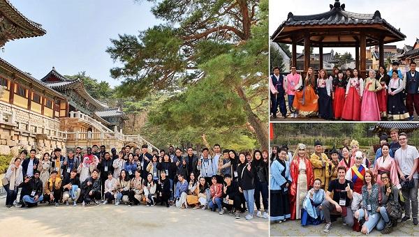 Chương trình trải nghiệm văn hóa Hàn Quốc tại ĐHQG Kyungpook