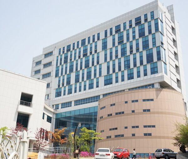 Học xá chính tại trường đại học Hyupsung Hàn Quốc