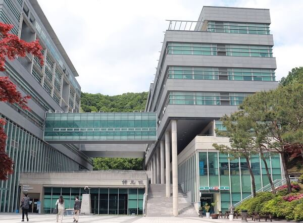 Một góc học xá trường Joongbu