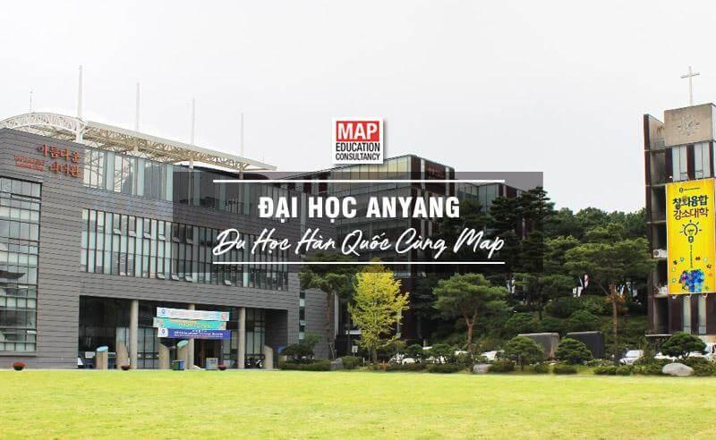 Cùng Du học MAP khám phá trường Đại Học Anyang Hàn Quốc