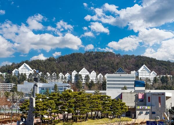 Toàn cảnh trường ĐH Chosun