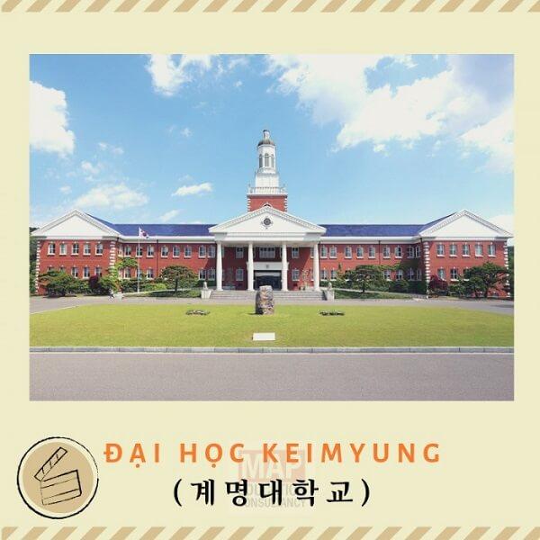 Trường Đại học Keimyung - Top 10 trường đẹp nhất Hàn Quốc