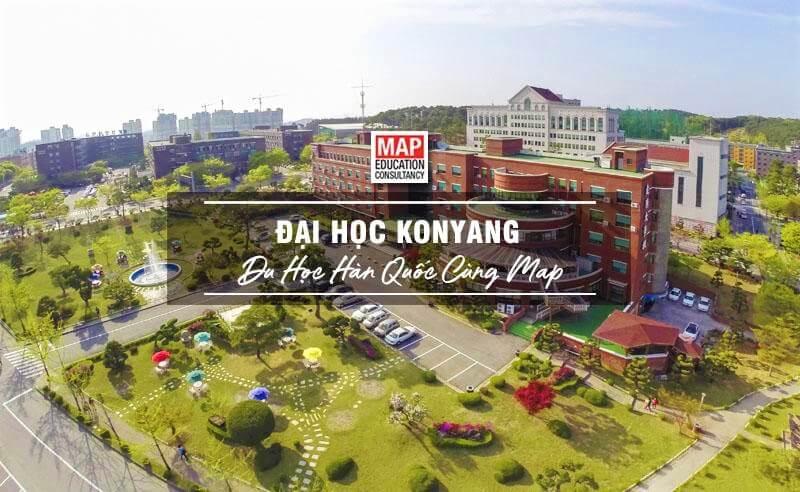 Cùng Du học MAP khám phá trường Đại học Konyang Hàn Quốc
