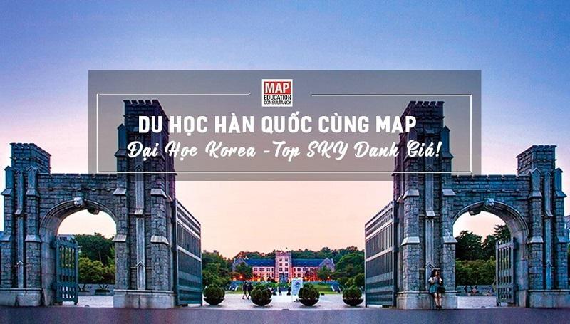 Cùng Du học MAP khám phá Đại học Korea – Ngôi Sao Sáng Nhất trong TOP SKY