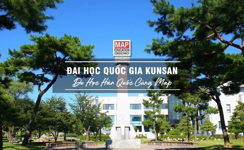 Cùng Du học MAP khám phá trường Đại Học Quốc gia Kunsan Hàn Quốc