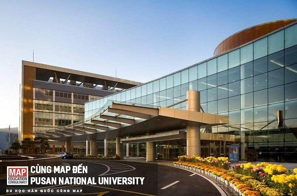 Cơ sở hạ tầng hiện đại của Đại học Quốc gia Pusan
