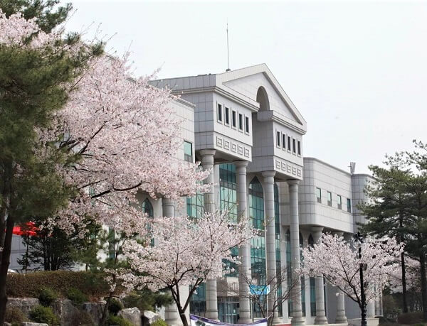 Học xá chính tại trường đại học Shinhan Hàn Quốc