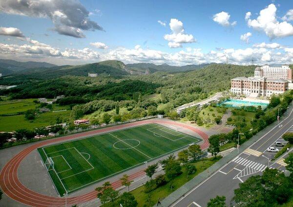 Cơ sở vật chất hiện đại tại trường đại học Tongwon Hàn Quốc