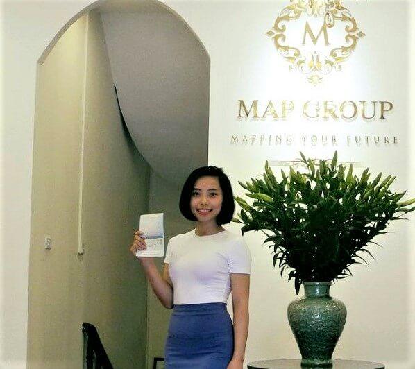 Đạt Nguyễn, nữ sinh xuất sắc của MAP tại ĐH Sangmyung