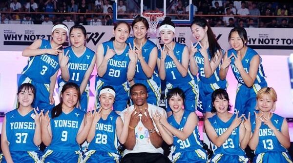 Đội tuyển bóng rổ nữ